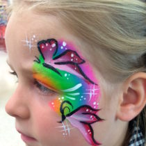 Butterfly eye design