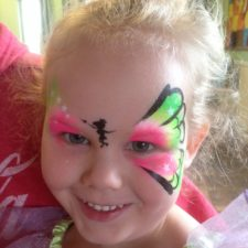 Tinkerbell Face Paint